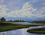 Florida Paintings - Florida by Rick McKinney