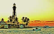 Hillsboro Prints - Florida Sunrise Print by Allan Einhorn