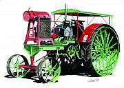 Tractor Originals - Flour City Gas Tractor by Ferrel Cordle