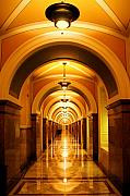 Library Of Congress Photos - Flow of Time by Mitch Cat