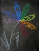 Petal Pastels Originals - Flower 13 by Mohd Raza-ul Karim