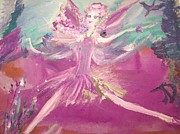 Ballet Originals - Flower bed fairy by Judith Desrosiers
