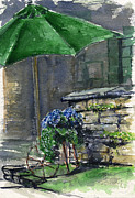 Stonewall Painting Originals - Flower Cart by John D Benson