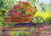 Katherine  Berlin - Flower Cart