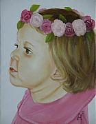 Infant Prints - Flower Child Print by Joni McPherson