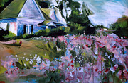 First Art Show - Flower House by John Gholson