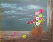 Assorted Originals - Flower III by Jo Mari Montesa