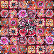 Shadia Zayed - Flower Montage