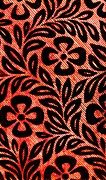 Kimonos Photos - Flower Motif Textile Design 1878 by Padre Art