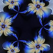 Fractal Patterns - Flower Power 04 by Edan Chapman