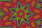 Kaleidoscope Art - Flower Power 3 by Stefan Kuhn