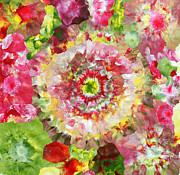 Vibrant Prints - Flower power Print by Sumit Mehndiratta