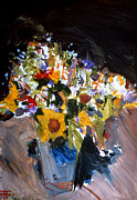First Art Show - Flower Vase by John Gholson