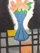 Flower Vase Print by Rahul narasimhan