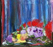 Sylvia Riggs - Flowers abstract
