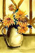 Flowers Print by Anil Nene