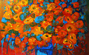 Flower Arrangement Paintings - Flowers are always Welcome No 2 by Patricia Awapara