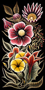 Erla Alberts Metal Prints - Flowers Metal Print by Erla Alberts