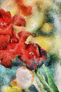 Flowers For Cynthia Print by Trish Tritz