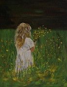 Little Girls Originals - Flowers For You by Leslie Allen