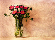 Flowers In A Vase Print by Sven Pfeiffer