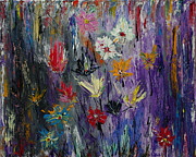 Image Painting Originals - Flowers in September 2010-11 by Alik Vetrof