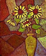 Wayne Potrafka - Flowers in Vase Altered