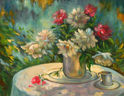 Ema Radovanovic - Flowers on the round...