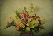 Indiana Flowers Prints - Flowers Print by Sandy Keeton