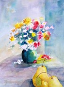 Maryann Schigur - Flowers with Pears
