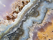 Animate Photos - Flowing Texture Within a Geode by Mary Sedivy
