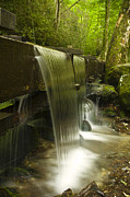 Grist Mill Art - Flowing Water by Andrew Soundarajan