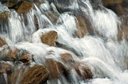 Brown Digital Art Posters - Flowing Waters Poster by Dale Kincaid