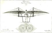 Flugmaschine 1807 Print by Padre Art