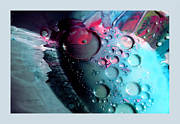 Fluidism Abstract Art Mixed Media Prints - FLUIDISM Aspect 283 Frame Print by Robert G Kernodle