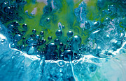 Fluidism Abstract Art Mixed Media Prints - FLUIDISM Aspect 52 PHOTOGRAPHY Print by Robert G Kernodle