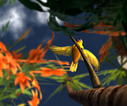 Flutter Print by Monroe Snook