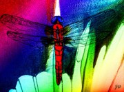 Bayou Digital Art - Fly Away by John  Duplantis