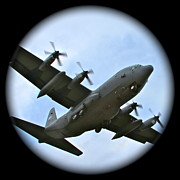 C130 Prints - Fly By Print by Rick  Monyahan