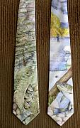 Scenery Tapestries - Textiles - Fly Fishers by David Kelly