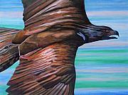 Eagle Paintings - Fly Like An Eagle by Brian  Commerford