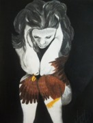 Eagle Drawing Mixed Media - Fly by Madelyn Mershon