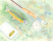 David Crowell - Fly Rod Rainbow