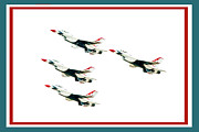 Military Photo Framed Prints - Flyby Framed Print by Greg Fortier