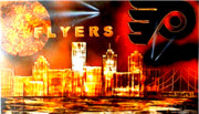 Philadelphia Skyline Originals - Flyers by Devon Reiffer