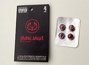 Flying Angel Photos - flying Angel Pills by Victor De Schwanberg