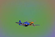 Military Aviation Art Photo Posters - Flying Colors Poster by Karol  Livote