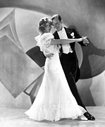 Astaire Posters - Flying Down To Rio, Ginger Rogers, Fred Poster by Everett