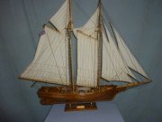 Fishing Sculpture Originals - Flying Fish Fishing Trawler by Louis Nanette