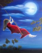 Swing Paintings - Flying high by Sharlene Schmidt